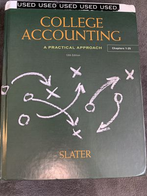 College accounting - Slater for Sale in Costa Mesa, CA