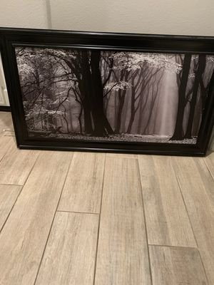 Beautiful black framed artwork for Sale in Menifee, CA