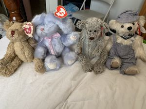 "Attic Collection ""Rare 1993 Beanie Baby's "" All Four or individual for Sale in San Jose, CA"