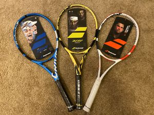 New Babolat Professional Tennis Rackets $200 each! for Sale in Corona, CA