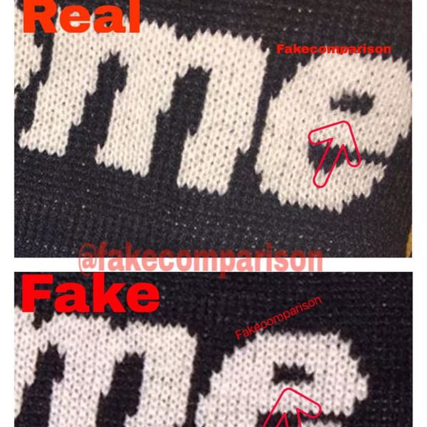 Fake Vs Real Supreme Headband - Just Me And Supreme