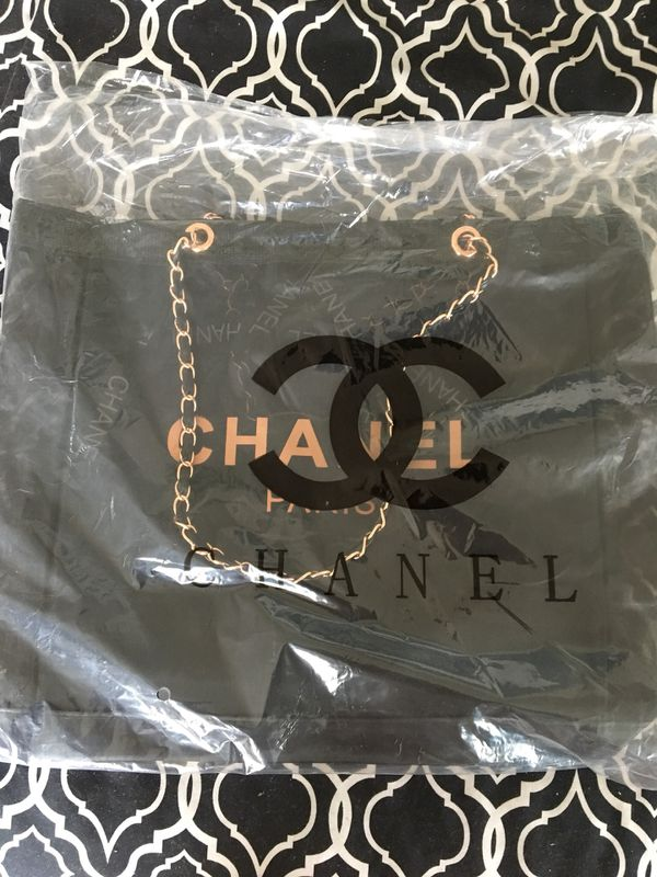 Authentic BRAND NEW/ NEVER USED VIP GIFT Chanel Mesh Tote!