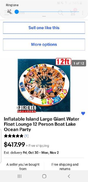 Giant 12 person inflatable island for Sale in Kent, WA