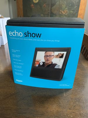 Amazon Echo Show 1st Generation Video Alexa for Sale in New York, NY