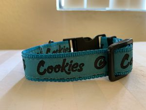 OFFICIAL COOKIES DOG COLLAR SIZE SMALL for Sale in Fresno, CA