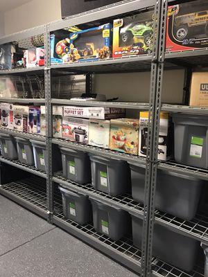 Metal Shelves Rack for Sale in Ontario, CA