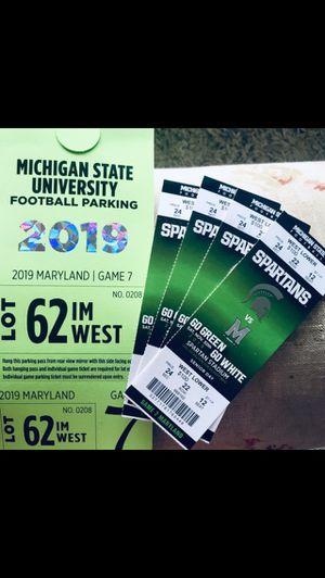 MSU vs Maryland (Senior Day) for Sale in Grand Rapids, MI