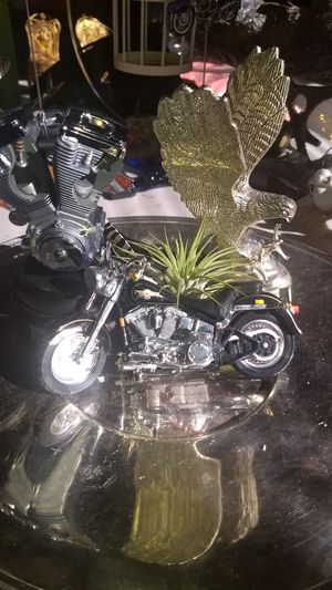 Harley-Davidson air plant with a Harley motor and a motorcycle for Sale in Townsend, DE