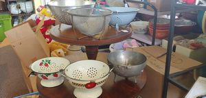 COLANDER COLLECTION for Sale in Plant City, FL