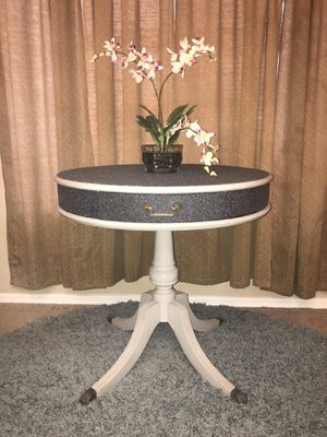 Refinished antique drum table for Sale in Surprise, AZ