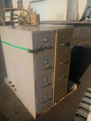 4 draw file/storage cabinets for Sale in Norfolk, VA