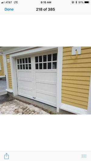 Wood Garage Door Wayne Dalton 8'6x7 for Sale in Derry, NH