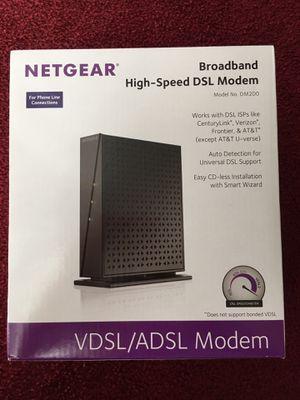 NETGEAR High-Speed DSL Modem for Sale in San Diego, CA