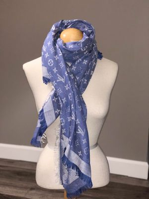 Scarf LV blue & white for Sale in Duluth, MN