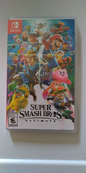 Super Smash Bros Game - Nintendo Switch - Awesome for Sale in Chula Vista, CA