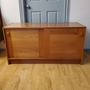 Mid Century Modern Teak Danish Credenza Buffet Sideboard By Domino Mobler for Sale in Kent, WA