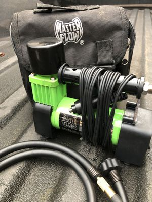 MasterFlow 12V Portable Air Compressor for Sale in Seattle, WA