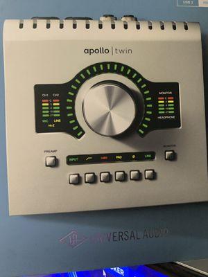 Audio Interface UAD Apollo Twin DUO USB (2018) for Sale in Everett, WA