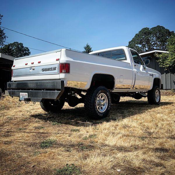 Chevy gmc squarebody off road bumpers k10 k20 suburban