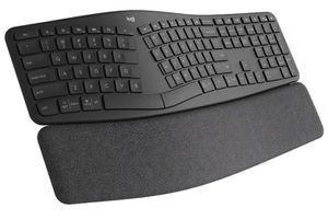Logitech Ergo K860 Wireless Ergonomic Keyboard with Wrist Rest - Split Keyboard Layout for Windows/Mac, Bluetooth or USB Connectivity for Sale in San Diego, CA