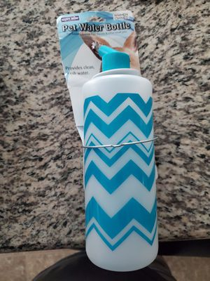 Pet water bottle for Sale in Moreno Valley, CA