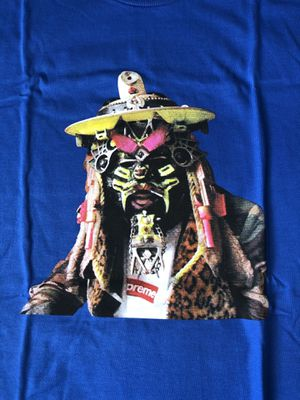 Supreme Rammullzee Picture Tee Shirt Royal Blue Men's Sz L Large Lrg for Sale in San Diego, CA