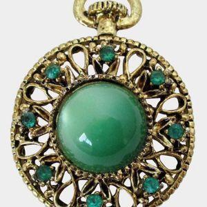 Vintage 2-in-1 Gold Moonstone Brooch+Pendant for Sale in Midlothian, VA