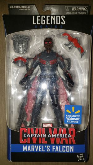 Marvel Legends Avengers Captain America Falcon for Sale in Chicago, IL