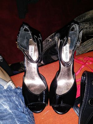 Steve Madden Black Stiletto Pumps and Zara Blucher Brogues Fringe Platforms for Sale in Phoenix, AZ