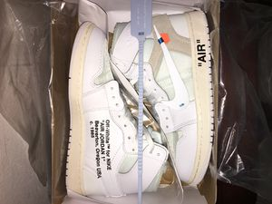 Off-White Nike Jordan 1 White Size 8.5 for Sale in Orlando, FL