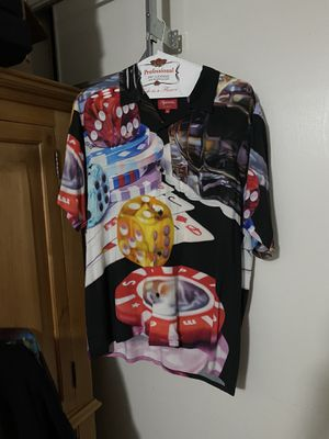 Supreme Casino Down Rayon Shirt for Sale in South Gate, CA