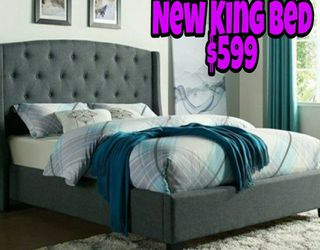 NEW💥KING BED💥PILLOW TOP MATTRESS INCLUDED💥IN STOCK💥CAMA NUEVA KING💥💥💥 for Sale in Lynwood,  CA