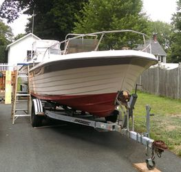 1976 Grady White 20' w/Evinrude motor for Sale in Salem,  MA