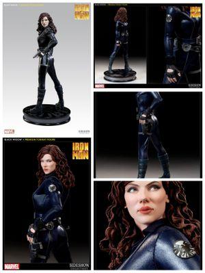 Sideshow Collectibles Marvel Iron Man 2 Black Widow Premium Format Statue Figure for Sale in Pico Rivera, CA