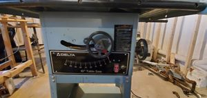 Delta 10' table saw, Ryobi laser drill press and other Sanders. for Sale in Drexel Hill, PA
