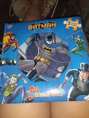 New batman puzzle book for Sale in Sacramento, CA