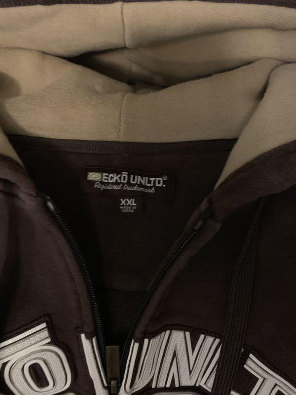 XXL zip up ecko jacket