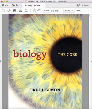 Biology The Core 1st Edition for Sale in South El Monte, CA