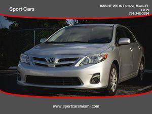 2012 Toyota Corolla for Sale in Miami, FL