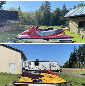 Two Jetski and trailer for Sale in Lake Stevens, WA