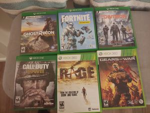 X-Box Games-$60 for Sale in Bennett, CO