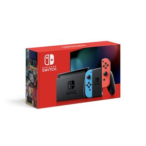Nintendo Switch Console with Neon Blue & Red Joy-Con. for Sale in Queen Creek, AZ