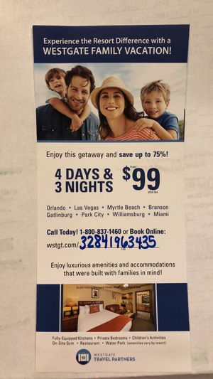 Resort Vacation for Sale in Manassas, VA