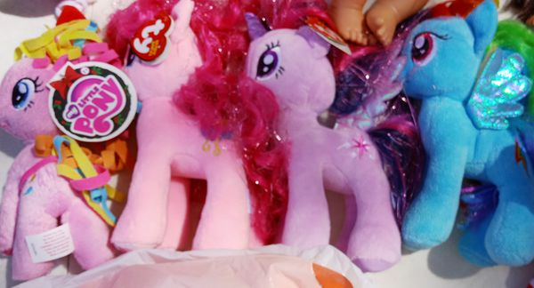 My little pony stuffed animals plushie toy for girls