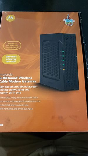 Motorola cable modem for Sale in Johnson City, TN