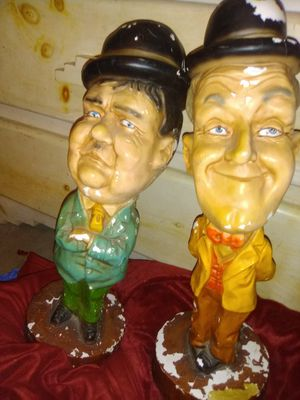 "Vintage Laurel and Hardy 16"" statues for Sale in Phoenix, AZ"
