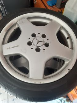 18 inch mercedes stock rims for Sale in La Mesa,  CA