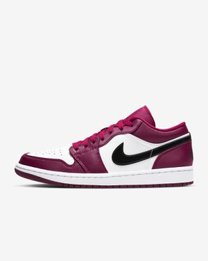 Jordan 1 low Burgundy and white for Sale in PA, US