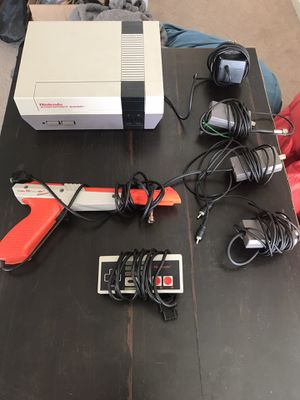Nintendo NES system with over 100 games for Sale in Lincoln, MA
