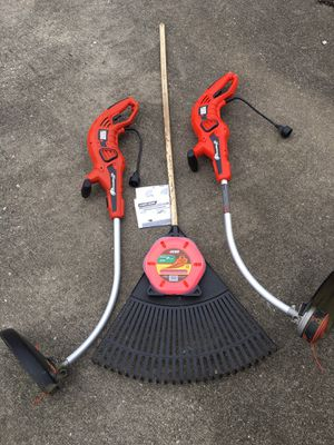 2 Electric Black n Decker Grass hog String Trimmers and More for Sale in Mason, OH